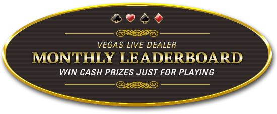 Vegas Live Monthly Leaderboard