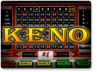 Play Keno Games at the Lucky99 Star Casino